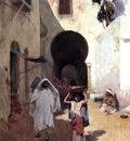 Metcalf Willard L Street Scene Tangiers