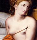 Key Willem Adriaensz Venus And Cupid detail