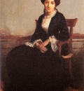 Bouguereau William Portrait Of Genevieve Celine Eldest Dau