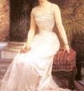 Bouguereau William Portrait Of Madame Olry Roederer