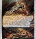 BLAKE William The Descent Of Christ