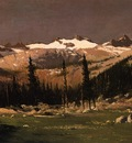 Bradford William Mount Lyell above Yosemite
