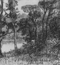 Hunt William Morris River Landscape