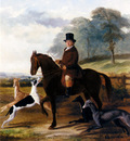Knight William Henry Mr Gilpin On His Favorite Hack With Greyhounds