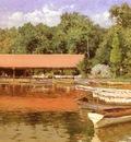 Chase William Merritt Boat House, Prospect Park