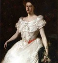 Chase William Merritt Lady with a Rose