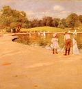 Chase William Merritt Lilliputian Boat Lake