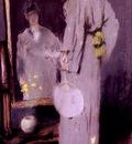 Chase William Merritt Making Her Toilet