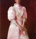 Chase William Merritt Study in Pink aka Portrait of Mrs  Robert P  McDougal