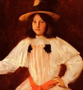 Chase William Merritt The Red Sash