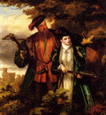Frith William Powell Henry VIII And Anne Boleyn Deer Shooting