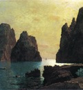 Haseltine William Stanley The Faraglioni Rocks