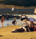 Homer Winslow By the Shore