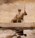 Homer Winslow Fishing in the Adirondacks