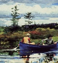 Homer Winslow The Blue Boat