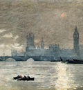 Homer Winslow The Houses of Parliament