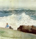 Homer Winslow The Northeaster