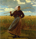 Homer Winslow The Return of the Gleaner