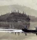 Homer Winslow Two Men in a Canoe