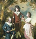 Wright The Children of Hugh and Sarah Wood of Swanwick Derbyshire