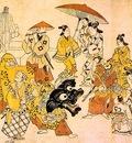 jihei, sugimura japanese, active 1680 1698