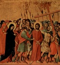 Bearing of the Cross Duccio di Buoninsegna