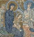 byzantinischer mosaizist um 705
