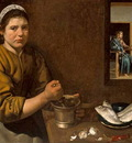 Christ in the house of Marthe and Marry Velazquez