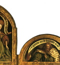 Ghent altarpiece Lunetes rigth
