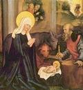 Hans Schaeufelein Marien und Passionsaltar Geburt Christi