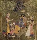 indischer maler um 1710