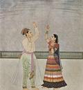 indischer maler um 1755