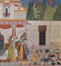 indischer maler von 1662