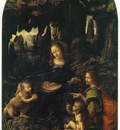 Leonardo da Vinci Madonata v peshterata
