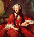 marie leszczynska reine de france lisant la bible by jean marc nattier