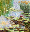 tribute to monet diptych r