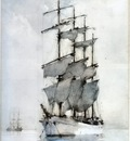 h  s  tuke four masted barque
