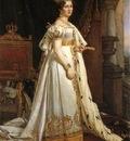 Therese of Saxe Hildburghausen, by Joseph Stieler