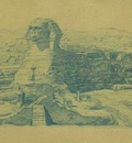 Paul Gosselin  The Sphinx of Gizeh