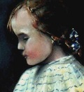 Paul Gosselin  -  Portrait of a little girl