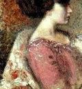 Georges Lemmen  1865 - 1916  Portrait of a young Lady
