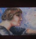 William Glackens woman profile