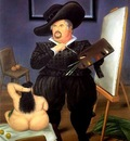 Fernando Botero -  Self portrait