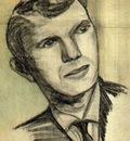 Joseph Gosselin - Self portrait