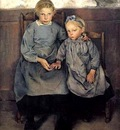 Leon Frederic  1856 - 1949