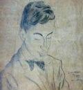 Maurice van Moppès  - Self portrait