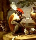 David Teniers - Monkey business
