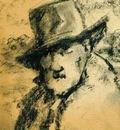 Achille Lammens - Self portrait
