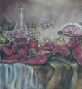 the still life with grapes2