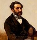Eugène Verboeckhoven - Self portrait